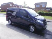 2013/62 Nissan NV200 1.5dCi WHEELCHAIR ACCESS 5 SEATS IDEAL CAMPER CONVERSION