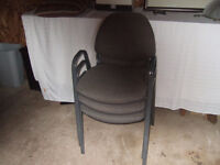 Stacking chair's only $9.50 each