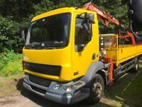 DAF TRUCKS FA LF55.180 Crain truck