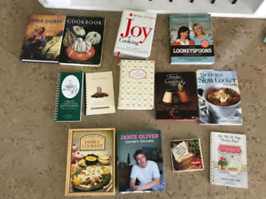 All these cookbooks- only $10 the lot!!!!
