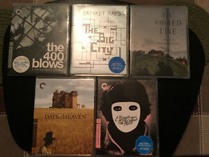 Updated - Criterion Collection Blu-rays For Sale