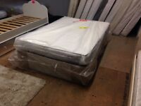 New sealy double divan memory mattress