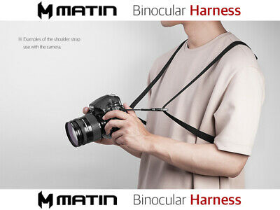 MATIN BINO-SUSPENDER FREE Camera binoculars Harness Shoulder strap