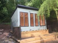 12ft x 8ft summerhouse/ shed/ office/ garden building