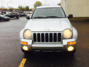 2003 Jeep Liberty Limeted 4x4 Camionnette