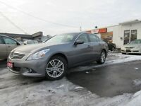 2012 Infiniti G37x ALL WHEEL DRIVE FULLY EQUIPPED APPLY TODAY