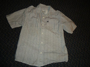 Boys Size 6X Short Sleeve Dress Shirt