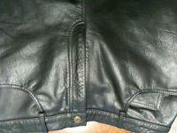 NEW Xelement.  Men's fully lined Black Leather size 36  Father's
