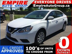 2017 NISSAN SENTRA SV * REAR CAM * HEATED SEATS * VOICE COMMAND/
