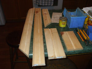 HOME MADE TRIM FOR SALE,,( OUT OF PINE ) 3/4 THICK WOOD Belleville Belleville Area image 2