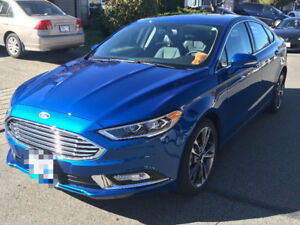 LOOKING FOR TAKE OVER! Financed 2017 Ford Fusion Titanium Sedan