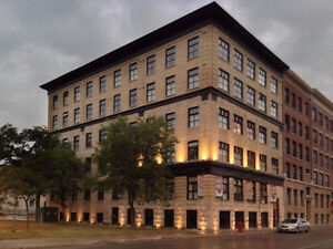 Apartment in Downtown Winnipeg for sublet w/ $300 MOVE IN BONUS
