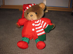 Christmas Bear Stuffies / Stuffed Animals / Plushies / Dolls