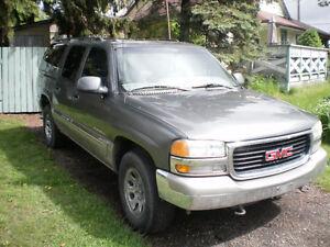 2001 GMC Yukon SUV, Crossover