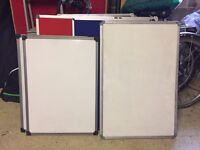 office whiteboards - 2 available