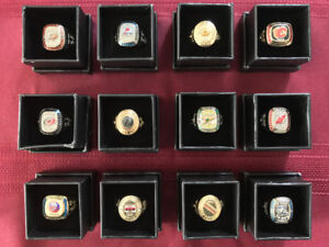 Molson Stanley Cup Replica Rings - SOLD