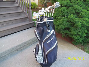 Women's Right Hand 14-pc Golf Clubs Set (Precision II) & Bag