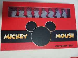 Disney Collection Cutlery Set - Brand New