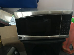 Stainless Kenmore Microwave