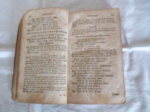 Old German religious book