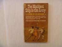 THE WACKIEST Ship In The Army by Lee Bergman - 1965 Paperback