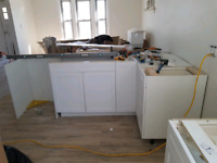 All finish carpentry