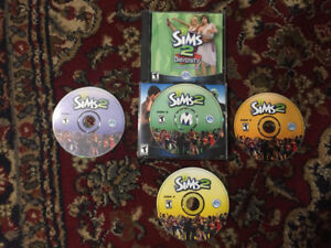 Sims 2 PC and Sims 2 University