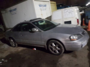 selling my Acura cl types us is   need to rebuild  transmission
