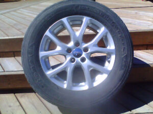 Jeep Cherokee Factory Wheels and Tires