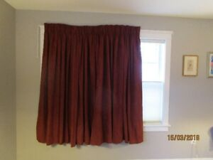 Drapes, light-blocking and insulated