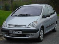 CITROEN PICASSO 1.6i LONG MOT TOW BAR FITTED