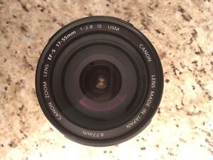 Canon EFS 17-55mm f/2.8 IS USM Lens  Cornwall Ontario image 2