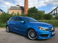 2013 63 MERCEDES-BENZ A CLASS 1.5 A180 CDI BLUEEFFICIENCY AMG SPORT 5D 109 BHP D