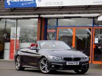 2015 64 BMW 4 SERIES 435I M SPORT 2DR AUTO CONVERTIBLE (300) PRO NAV 19S