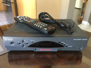Rogers Digital Cable Explorer 4250HD HD box