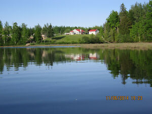2 acre water view home