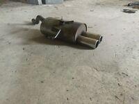 Corsa/Clio scorpion exhaust muffler