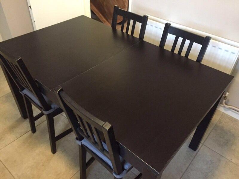 Ikea 4 Seater BJURSTA Dining Table Set Great Condition Lisburn
