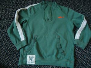 Boys Size 7 Mock Neck Shark Sweater by****Hatley**** Kingston Kingston Area image 1