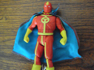 RED TORNADO ACTION FIGURE 1984