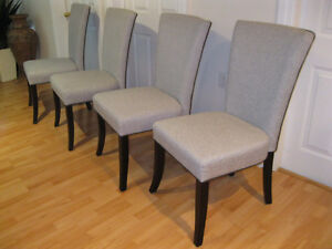 FINAL PRICE DROP 4 Beautiful Dining rm chairs like new .