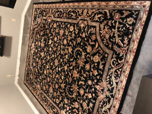 Handmade wool Persian rug - excellent condition 8x10