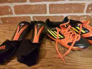 2 sets of soccer cleats size 11K US size