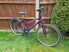 Raleigh Max mountain bike, bicycle, Shimano