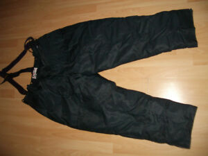 "New Duvet Down fill "" WOODS "" ski / snow pants -- size L / XL"
