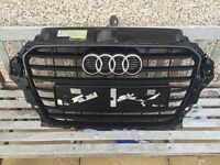 Audi A3 TDi Black Edition 2014 8v Grille