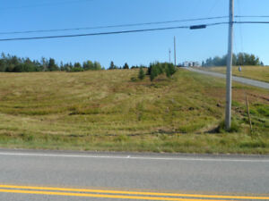 over 2 acres overlooking bras d'or lakes