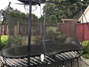 SpringFree Trampoline 8 x 11 ft Oval for Sale