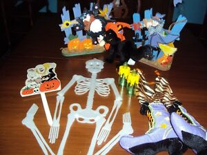 Lot of Halloween Decorations --- 14 items for $15