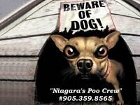 Niagara's Poo Crew ~ Dog Waste Cleanup Services
